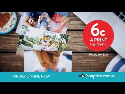 Snapfish 6c Prints TV OFFER