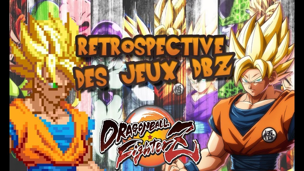 les jeux dbz de 1993 a 2018 retrospective youtube. Black Bedroom Furniture Sets. Home Design Ideas