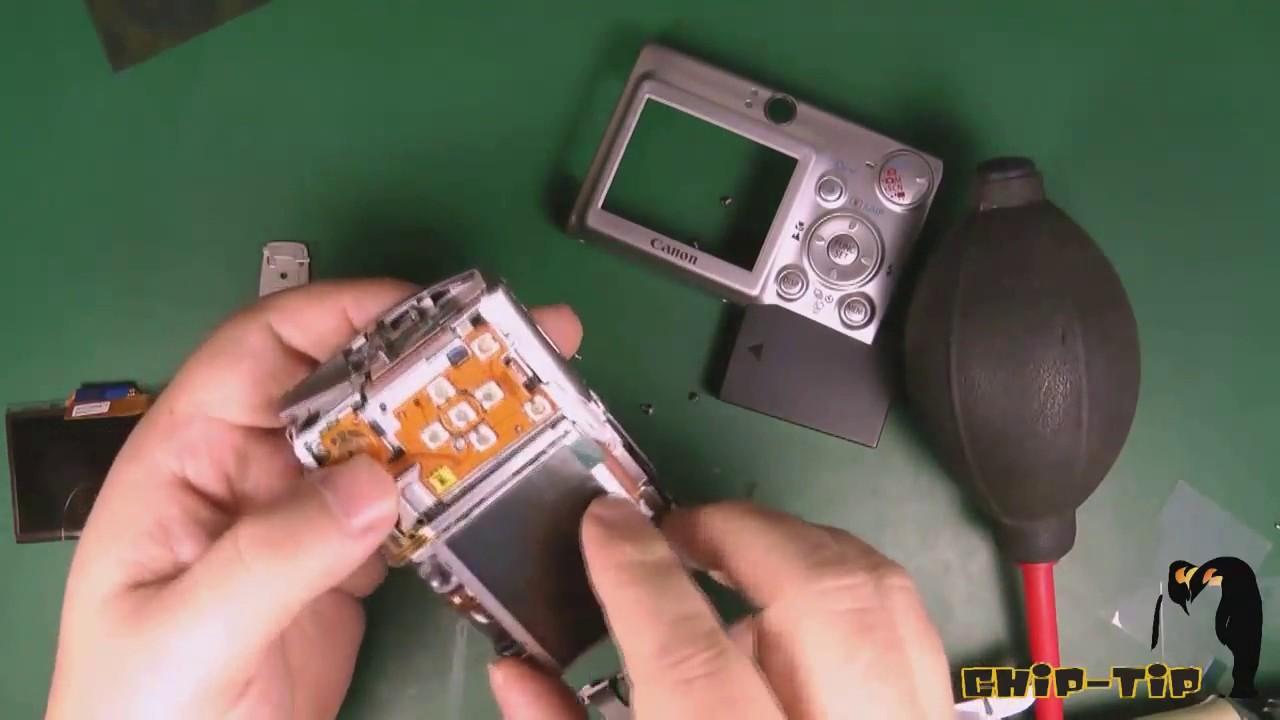 Canon PowerShot SX700 SX710 HS Display LCD Ersatzteil Reparatur Kamera-Station