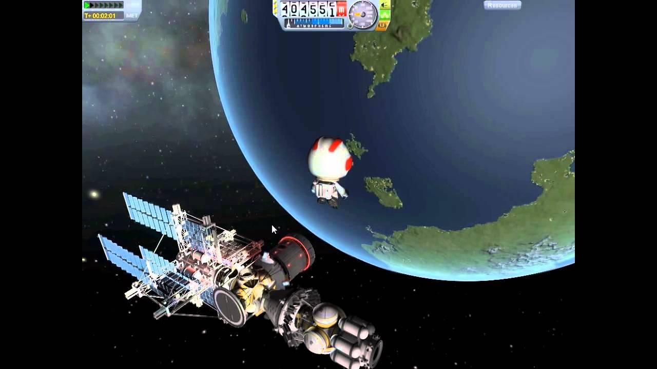 Kerbal Space Program EVA Tutorial - YouTube