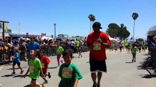 Orange County California Kids Marathon 2014