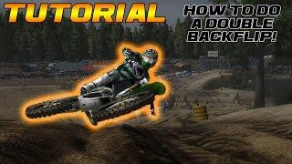 tutorial how to do a double backflip   mx vs atv reflex