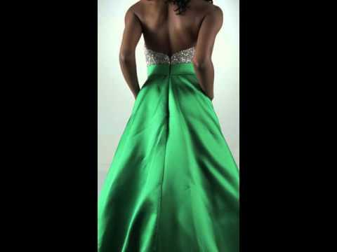 jovani-29160-emerald/silver