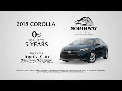 New 2018 Corolla   0% Up To 5 Years   Northway Toyota Albany