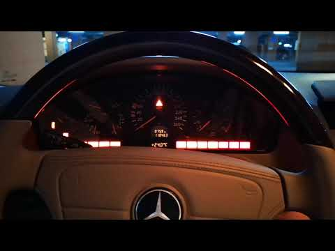 V12 Cold Start ⚡ Mercedes Benz W140 S600L
