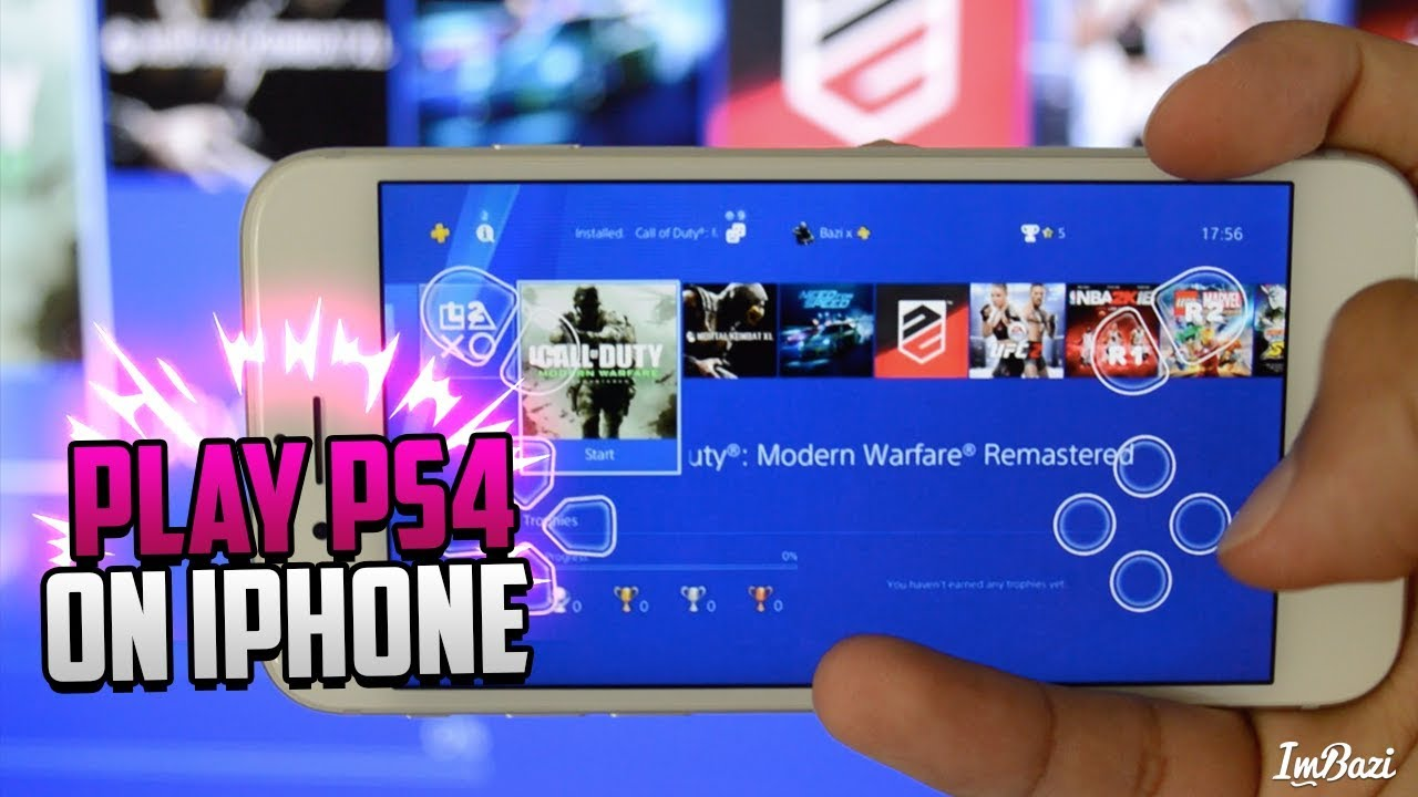 4cb5591f3 How To PLAY PS4 ON iOS iPhone & iPad! (REMOTE PLAY ON iPHONE!)