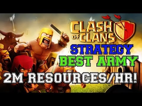 The BEST & FASTEST Resource-Generating Army In Clash Of Clans! | 2 Million + PER HOUR!