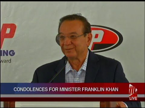 Energy Minister Franklin Khan Passes On