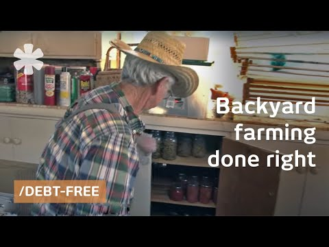 Backyard farmers by necessity: self-sufficient & debt-free
