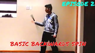 Cool Sword Trick Tutorials-Episode 2: Basic Backwards Spin