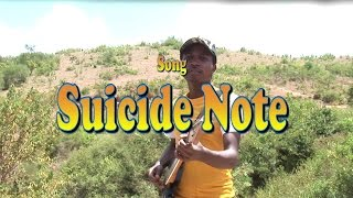 Suicide Note by Kioi Junior
