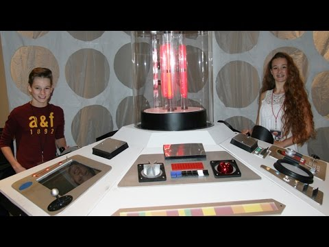 Doctor Who Game Show with Ellie Darcey-Alden and Joseph Darcey-Alden for YouTube