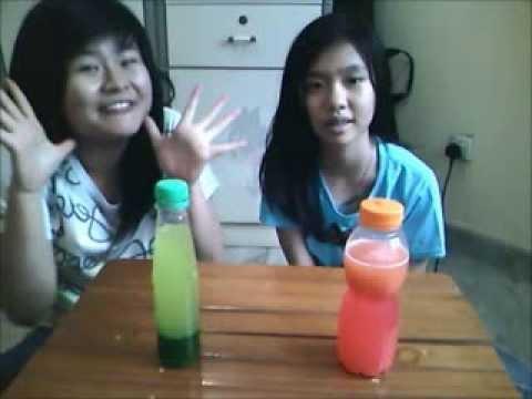 Percobaan Fisika : Lampu Lava Sederhana (Kasih Kemuliaan Junior High School)