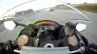 Moto Kawasaki Ninja ZX 10R Vs  auto Audi RS6