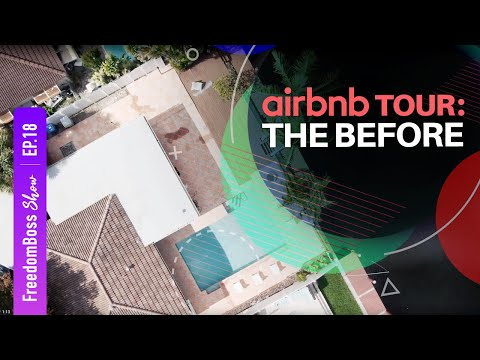 POMPANO BEACH HOUSE TRANSFORMATION (AIRBNB EDITION)   FreedomBo$$ TV Show (Episode 18)   EN & PT CC