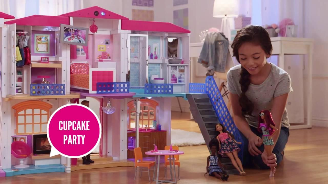 Barbie Hello Dreamhouse Playset Mattel 2017