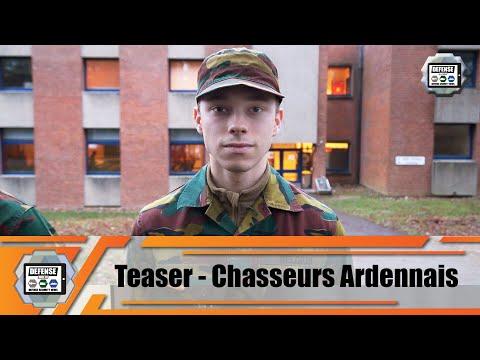 Teaser La vie des jeunes soldats au sein Bataillon de Chasseurs Ardennais armée Belge Web TV série
