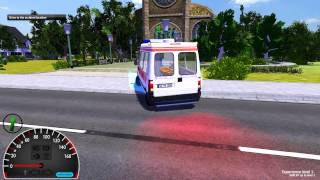Första Intrycket: Emergency Ambulance Simulator 2012