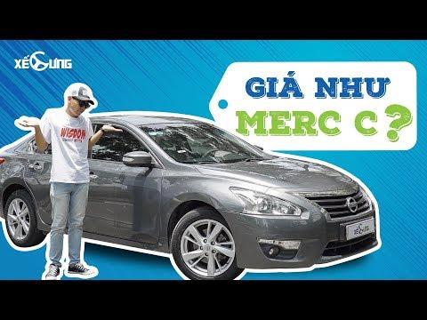 Nissan Teana nhập Mỹ giá ngang Merc C -
