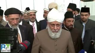 Deutsch: Ahmadiyya Muslims gather for Germany's largest Islamic Convention