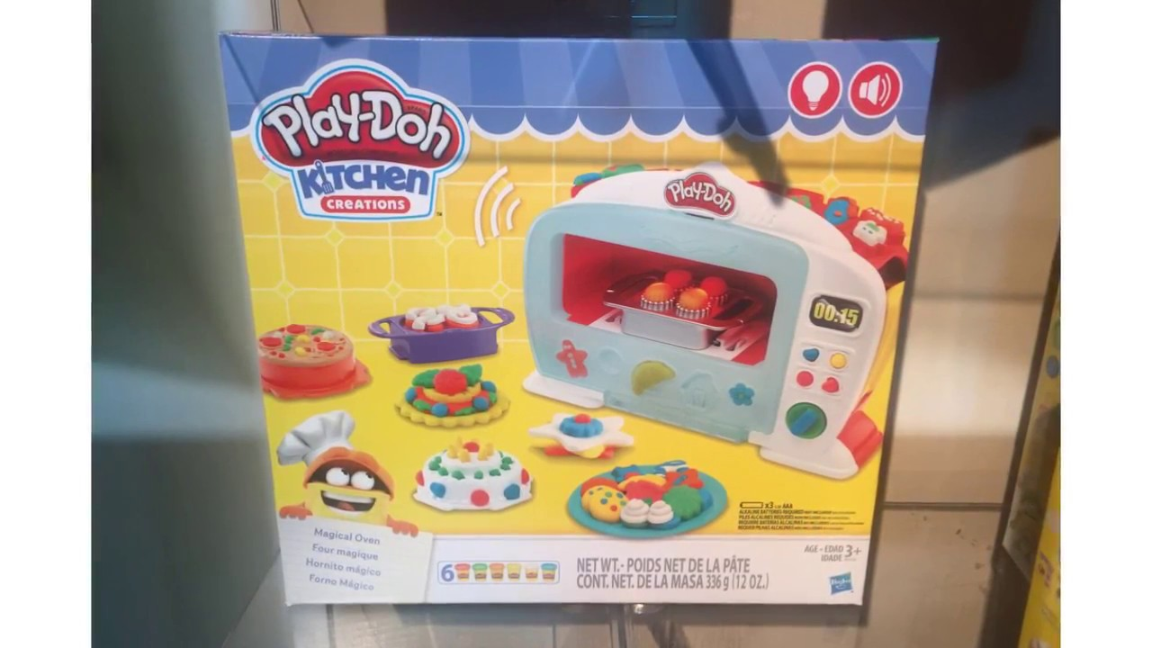 Play-Doh Kitchen Creations Magical Oven - YouTube