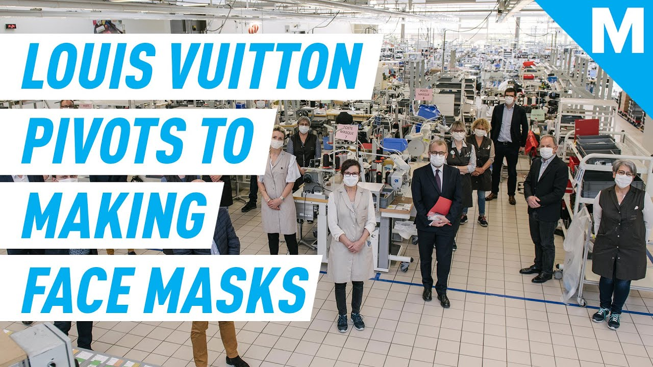 Louis Vuitton Is Now Making Face Masks For Hospitals | Mashable News