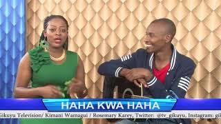 SAMIDOH #NDIRI MUTWE AT HAHA KWA HAHA SHOW WITH ROSEMARY KAREY NA KIMANI WAMAGUI @GIKUYUTV