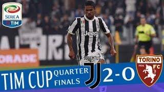 Juventus - Torino 2-0 - Highlights - TIM Cup 2017/18 streaming