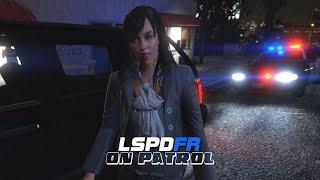 LSPDFR - On Patrol - Day 10 - POV Night Patrol