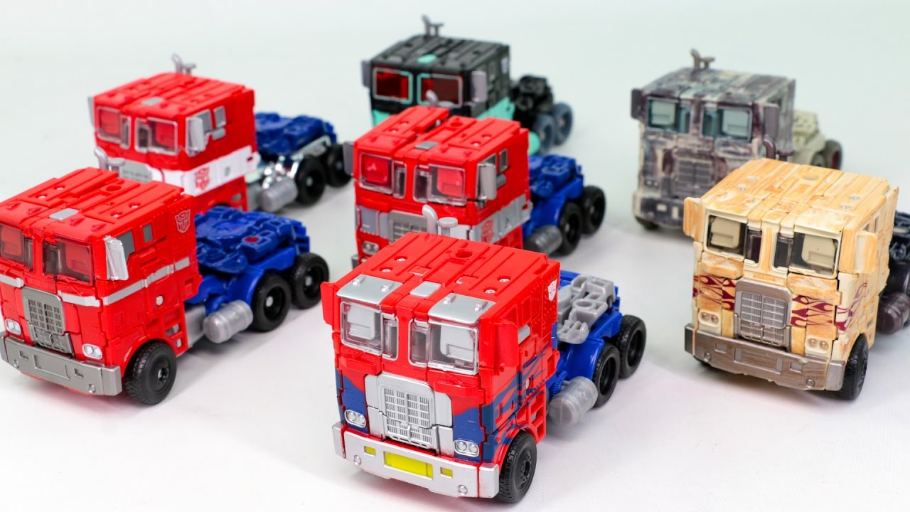Transformers Movie 4 AOE Evasion Optimus Prime Nemesis Prime 7 Truck Vehicle Transformation Car Toys