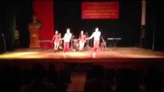 Nhóm thi học kỳ - Trường ĐH văn hóa nghệ thuật Quân Đội