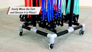 Rsistance Tubing Storage Rack
