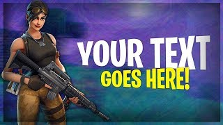 Fortnite Battle Royale Thumbnail GRATUIT Template! (Fortnite Thumbnail Télécharger)