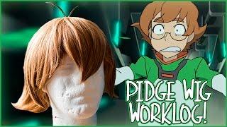 Pidge Gunderson wig | Voltron: Legendary defenders | Worklog!!