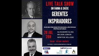 TALK SHOW - 29 JULHO 2020 - GERENTES INSPIRADORES