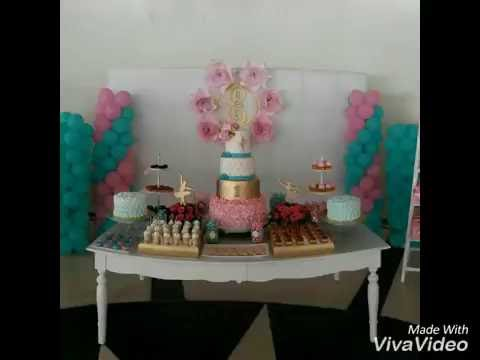 Bailarinas ideas para decorar cumplea os youtube - Ideas de cumpleanos ...