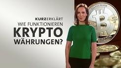 #kurzerklärt: Wie funktionieren Kryptowährungen?