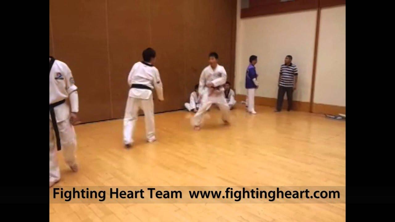 大角咀體育館跆拳道輕鬆對練(Part 4/10) - YouTube