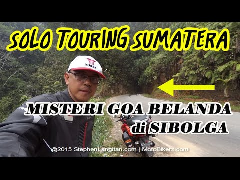 Masuk Goa Belanda di Sibolga, Sumatera Utara