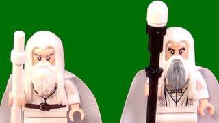 Baixar LEGO Gandalf and Saruman the White LEGO LOTR Comparison - BrickQueen