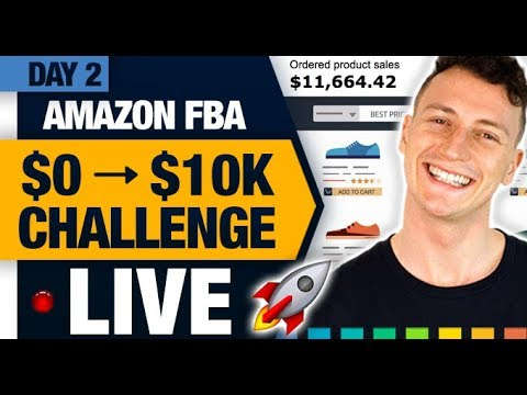AMAZON FBA $10,000 CHALLENGE 🚀 (Day 2) The Most Powerful Product Finding Strategy!