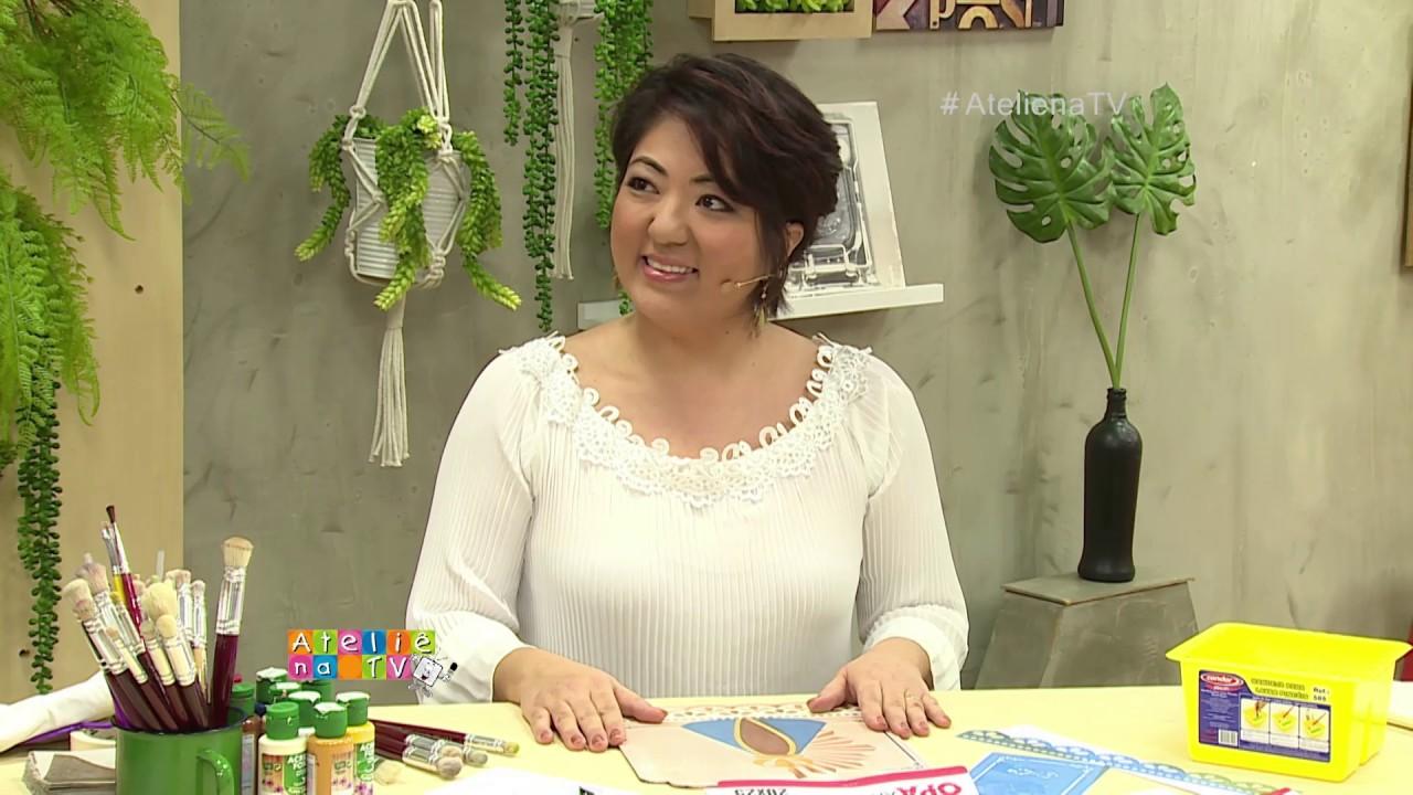 Aparador Mesa Retratil ~ Ateli u00ea na TV Rede Vida 19 04 2017 Claudia Maria e Mayumi Takushi YouTube