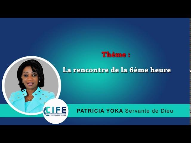 COMBATTONS LE BON COMBAT « La rencontre de la 6ème heure »