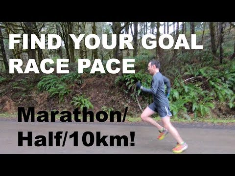 HOW TO FIND YOUR RACE PACE FOR THE HALF MARATHON, 10KM, MARATHON | Sage Running Tips