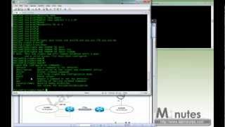 LabMinutes# SEC0026 - Cisco Router Site-to-site (L2L) IPSec IKEv1 VPN with VRF (crypto map & VTI)