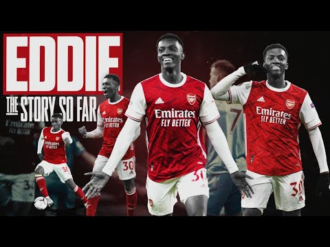 Eddie Nketiah | The story so far... | From rejection to record breaker