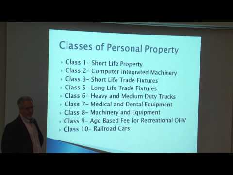 Property Tax Administration in Utah Workshop:  Personal Property