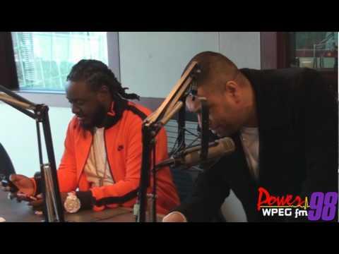 Power 98: T-Pain Prank Calls DJ Khaled!