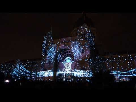 Melbourne White Night - Royal Exhibition Building