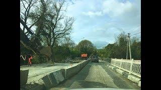 Трасса от Геленджика до Сочи. Все ремонты и состояние дороги! Апрель 2019г.